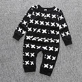 Newborn Infant Baby Boy Kids Clothing Set Autumn Winter Long Sleeve cotton Romper Outfit Jumpsuits