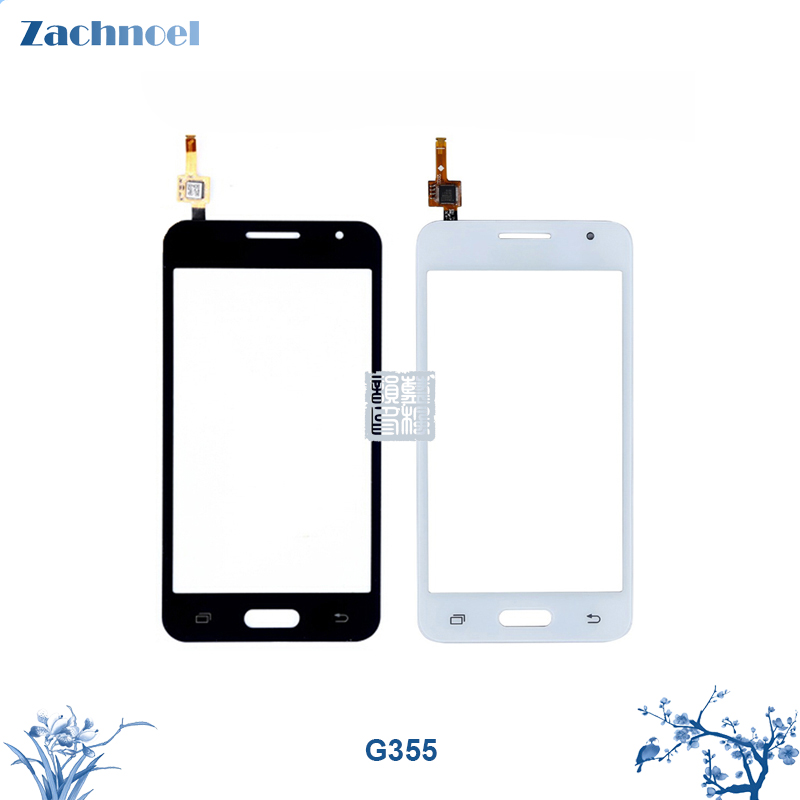 Touch Screen for Samsung Galaxy Core 2 G355h G355 Digitizer Panel Sensor Lens Glass 4.5 Inch Replacement Parts