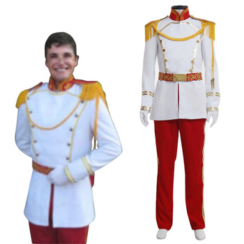 Prince Cosplay Prince Charming Cosplay Costume Adult Men's Halloween Carnival Costume Cosplay