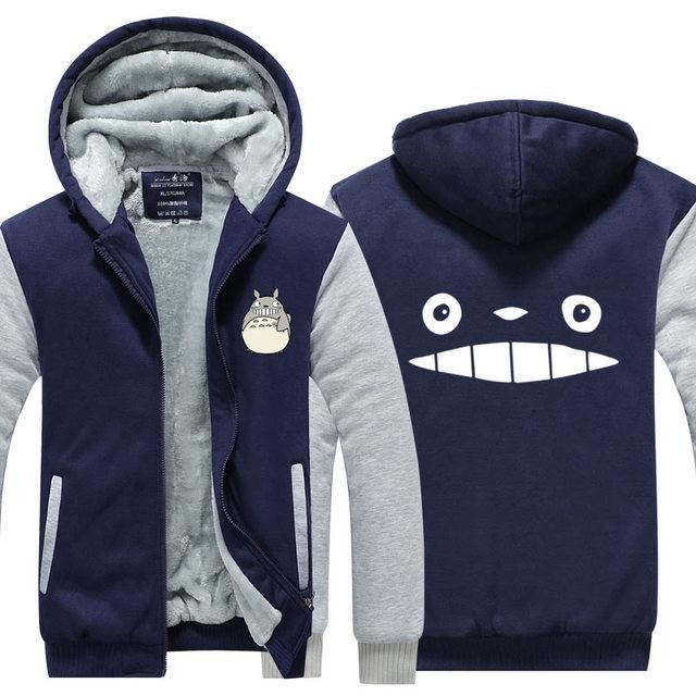 Totoro Print Casual Hoodie