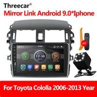 Car Radio Player Mirror Link autoradio 2 din For Toyota Corolla E140/150 2008 2009 2010 2011 2012 2013 Auto stereo Rear Camera