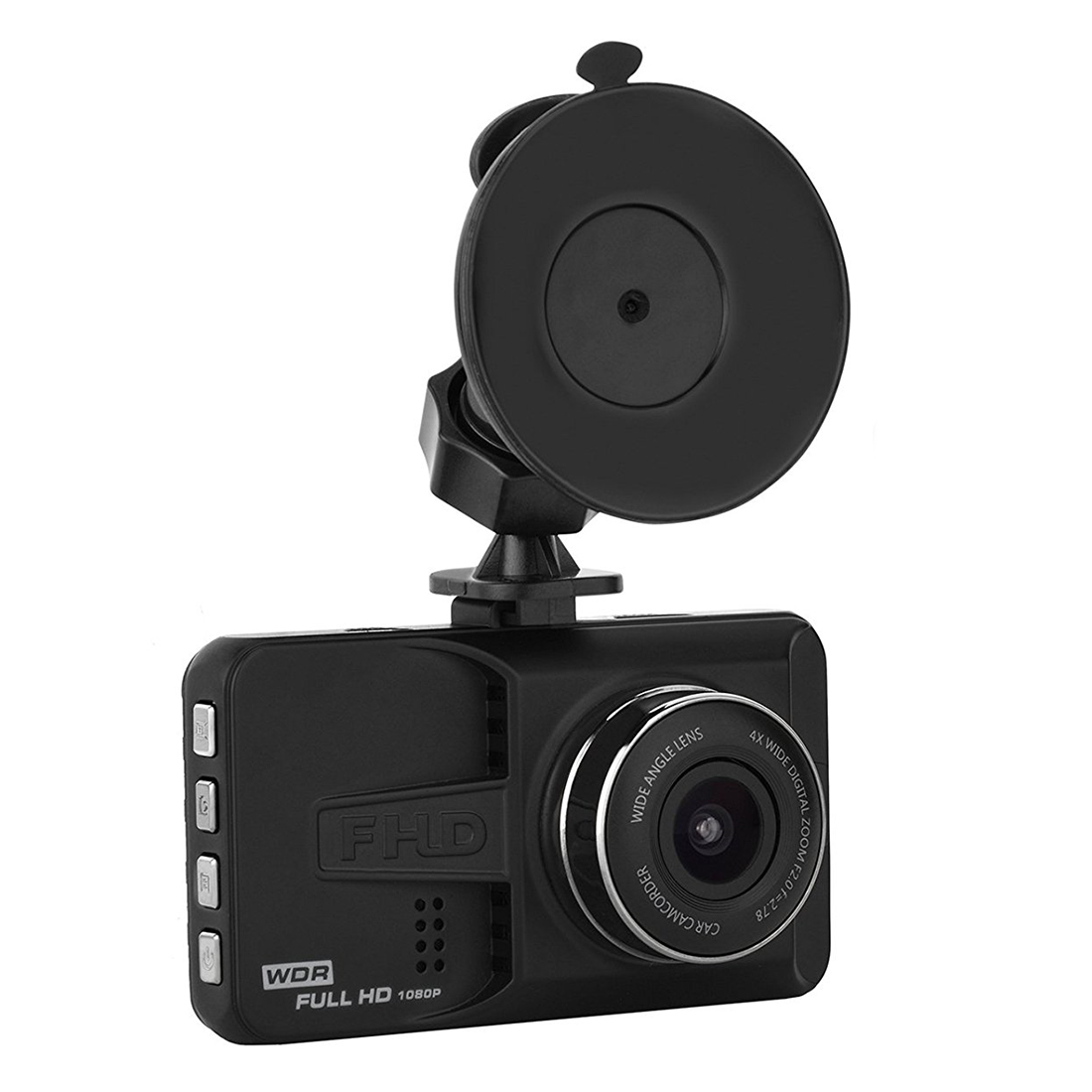 AUTO -Car Black Box, Dashboard Camera Recorder with 4 Wide Digital Zoom, Dash Cam with 3.0 inch IPS, 1080P FHD, G-Sensor, WDR,
