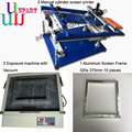 cuver screen printer with exposure unit with vacuum