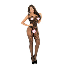 Hot Selling Sex Lingerie Black Sexy Bodystocking Open Crotch Body suit Sexy Costumes Intimates Women Erotic underwear W8836 sexy lingerie bodystocking open crotch women erotic sex toys products costumes black underwear slips intimates fishnet dress