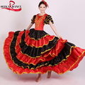 360 español flamenco dancer fancy dress costume senorita/español para baile flamenco