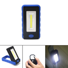 Super bright COB LEDs Flashlight Worklight Lamp Camping Light with Strong Magnet Stand Hanging Swivel Hook