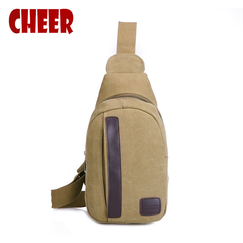 Fashion Chest Bags Casual Men Shoulder Messenger bag canvas Phone Travel Bag Men women chest Small Travel messenger bag vintage canvas chest bag men new crossbody shoulder bag multifunction casual travel bag fashion large capacity chest bag for men