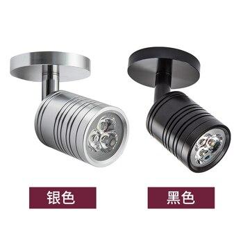 10pcs New LED spot Lamps  3w led Bedroom Bedside Light Direction Adjustable Reading Lamp Home lighting 3 years warranty time