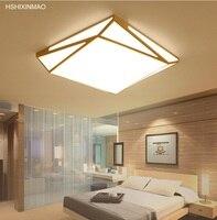 جديد مربع بسيط الحديثة جو LED السقف مصباح المعيشة غرفة نوم رومانسية دراسة الإبداعية الهندسة أضواء السقف