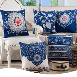 Classic Chinese Flowers Linen