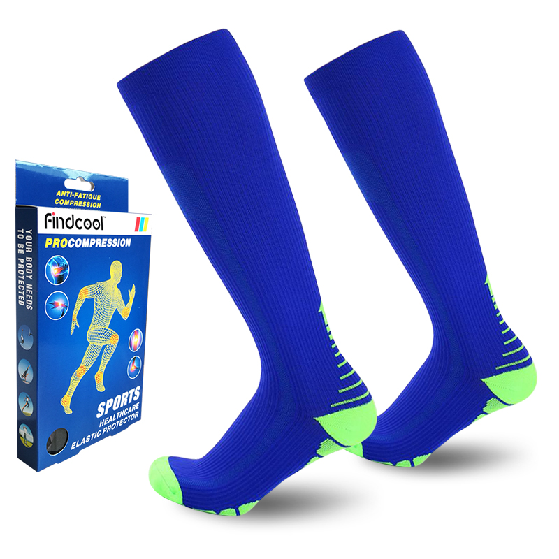Sports & Entertainment Hiking Clothings Sports Camping And Hiking High Stockings Socks Anti-slip Outdoor Equipment Compression Warm Protect Leg Breathable Women