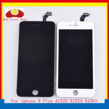 10Pcs/lot For iphone 6 Plus LCD Screen Pantalla Display Touch Screen Digitizer LCD Complete Original Quality стоимость