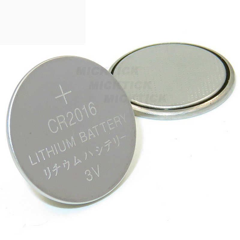 5PCS/lot 1 cards CR2016 3V Lithium li-lion Battery DL2016 ECR2016 LM2016 BR2016 CR2016 Button cell Coin Batteries toys watches