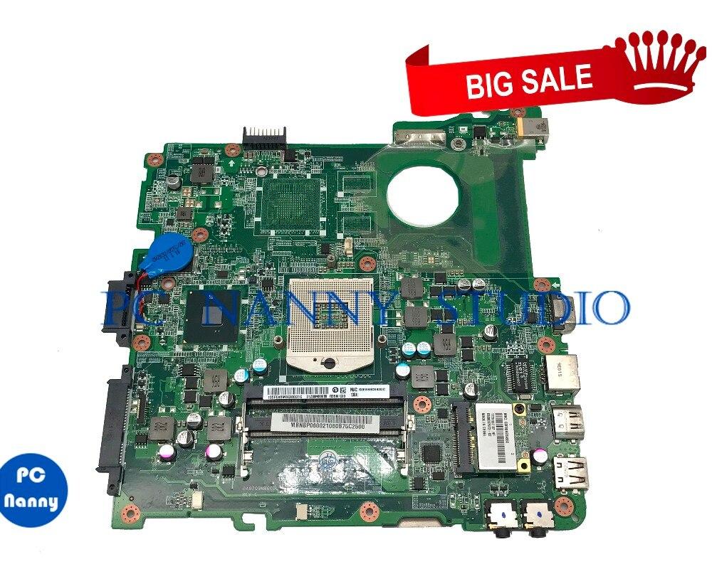 PCNANNY MBNBP06002 For Acer Aspire 4738 4738Z Laptop Motherboard DA0ZQ9MB6C0 HM55 DDR3 Tested