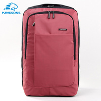 Waterproof Solid Kingsons Rosered Green Gray 15 6 Inch Bag Unisex Laptop Backpack High Capacity School