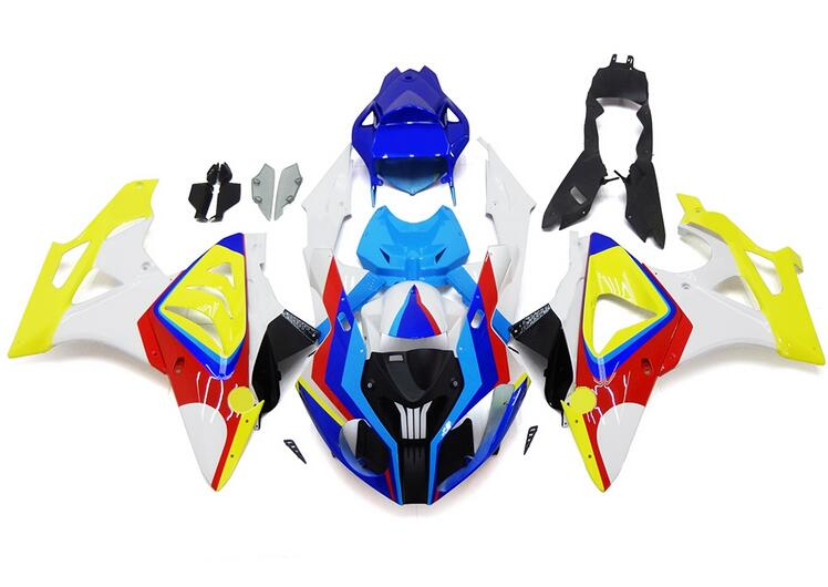New ABS Fairings For BMW S1000RR 09 12 13 14 1000RR 2009 - 2014 Injection Motorcycle Plastic Fairing Kit Bodywork set red yellow image