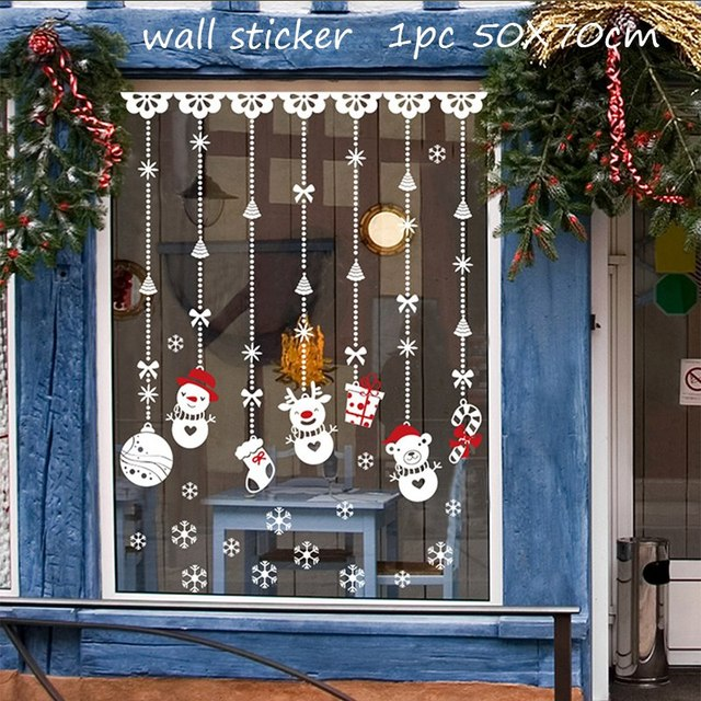 Window Sticker Christmas