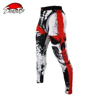 SUOTF MMA Boxing Sports Fitness Personality Breathable Loose Large Size Shorts Thai Fist Pants Running Fights