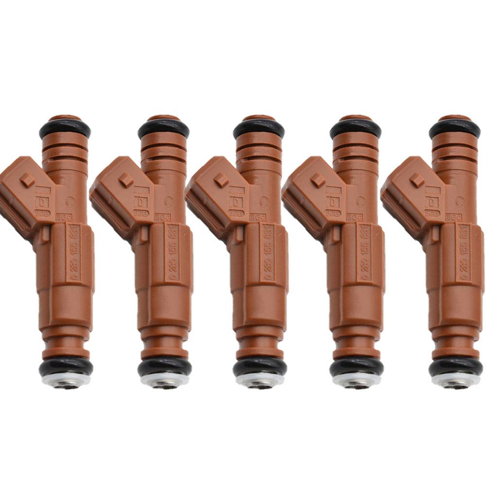 5pcs/lot Fuel Injector for VOLVO S70 C70 V70 S60 S80 XC70 XC90 2.4 2.5 2.8 2.9 0280155831,0280 155 831,0 280 155 831