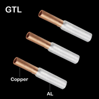 GTL-70 GTL-95 GTL-120 Copper Aluminum CU-AL Tube Cable Wire Bimetallic Splice Sleeve Lug Ferrule Connector Crimp Terminal