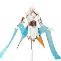 LOL Cosplay Lol Divine Sword Irelia Cosplay Costume Dress Female Irelia Cosplay Wig LOL Blade Dancer Halloween Costumes