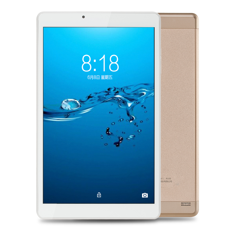 10.1 inch Aoson R103N Android 7.0 Tablet PC 32GB/2GB Quad Core IPS 800*1280 5MP Bluetooth WIFI FM GPS Metal Case Luxury Golden lnmbbs android 5 1 8 core 10 1 inch tablet pc 2gb ram 32gb rom 5mp wifi a gps 3g lte 1280 800 ips dual cameras otg fm multi game