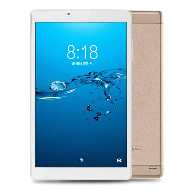 10.1 inch Aoson R103N Android 7.0 Tablet PC 32GB/2GB Quad Core IPS 800*1280 5MP Bluetooth WIFI FM GPS Metal Case Luxury Golden