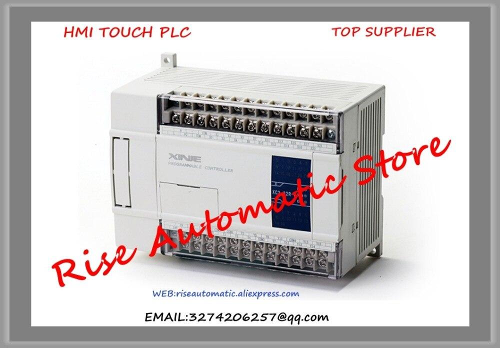 New Original Programmable Controller Module XC1-24R-C PLC DC24V 2COM plc programmable logic controller module and 3 5 inch hmi learning plan hmi plc