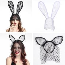 Women Lady Girl Sexy Bunny Rabbit Cat Ear Hair Hoop Headband Hairband Party Costume