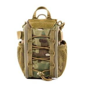 Image 4 - OneTigris ilk yardım travma paketi tıbbi kiti hızlı ayır EMT/ilk yardım çantası taktik Cordura naylon Multicam travma kılıf çanta