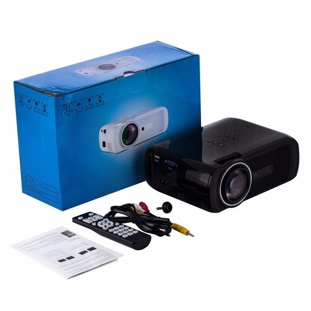 1000 Lúmenes HD Home Cinema Multimedia LED/Proyector LCD HDMI//VGA/AV/3D