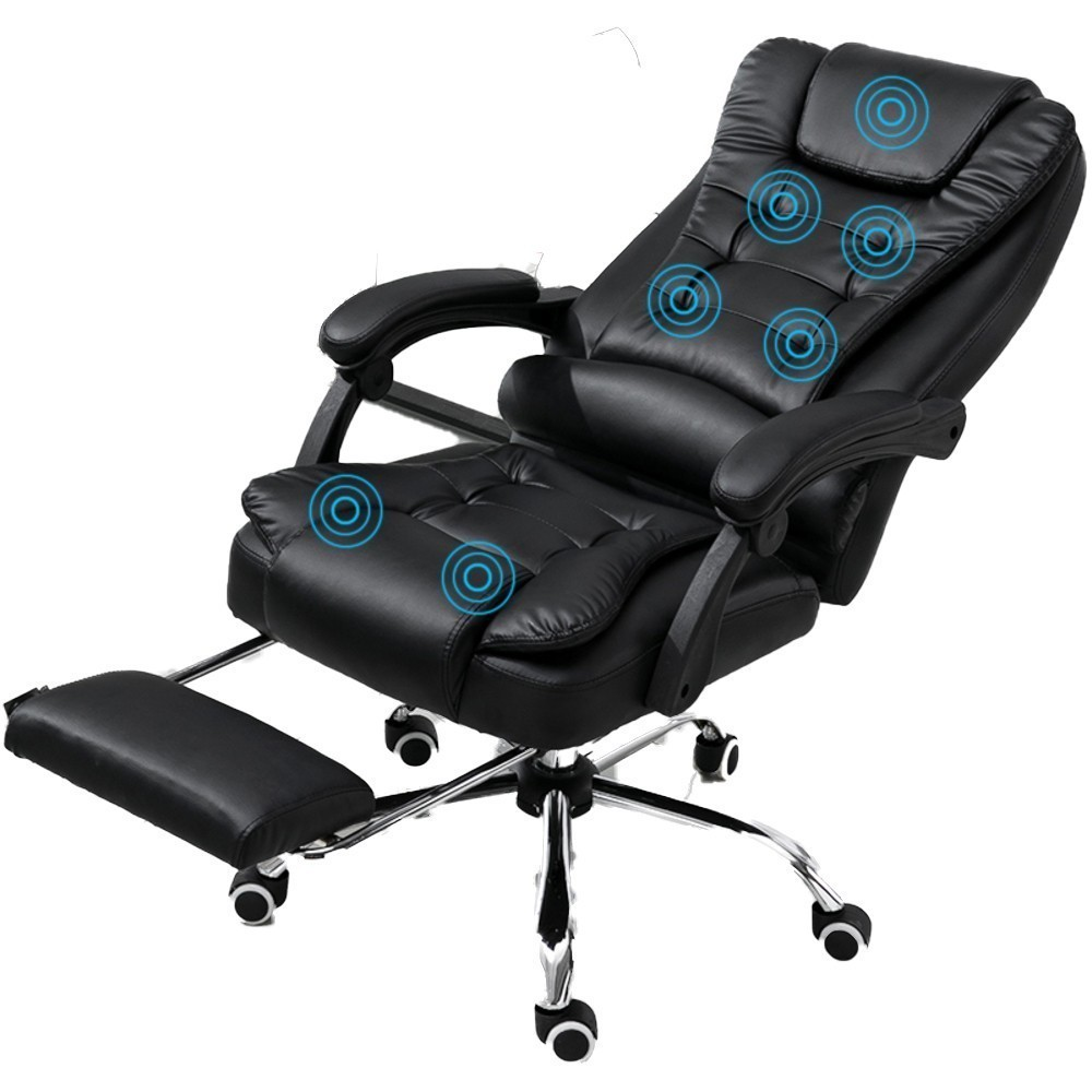 High Quality M-03 Home Rest Office Poltrona Gaming Chair Ergonomics Synthetic Leather With Footrest Wheel Household Silla Gamer