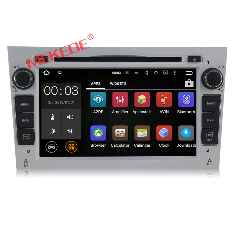 1024 600 Quad Core Android 7 1 Car DVD Player For Opel Astra H Vectra Corsa