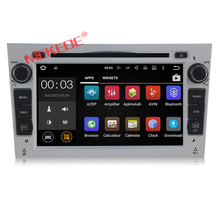 1024*600 Quad Core Android 7.1 Car DVD Player For Opel Astra H Vectra Corsa Zafira B C G with 1.6Ghz CPU 2GB RAM 16GB Flash