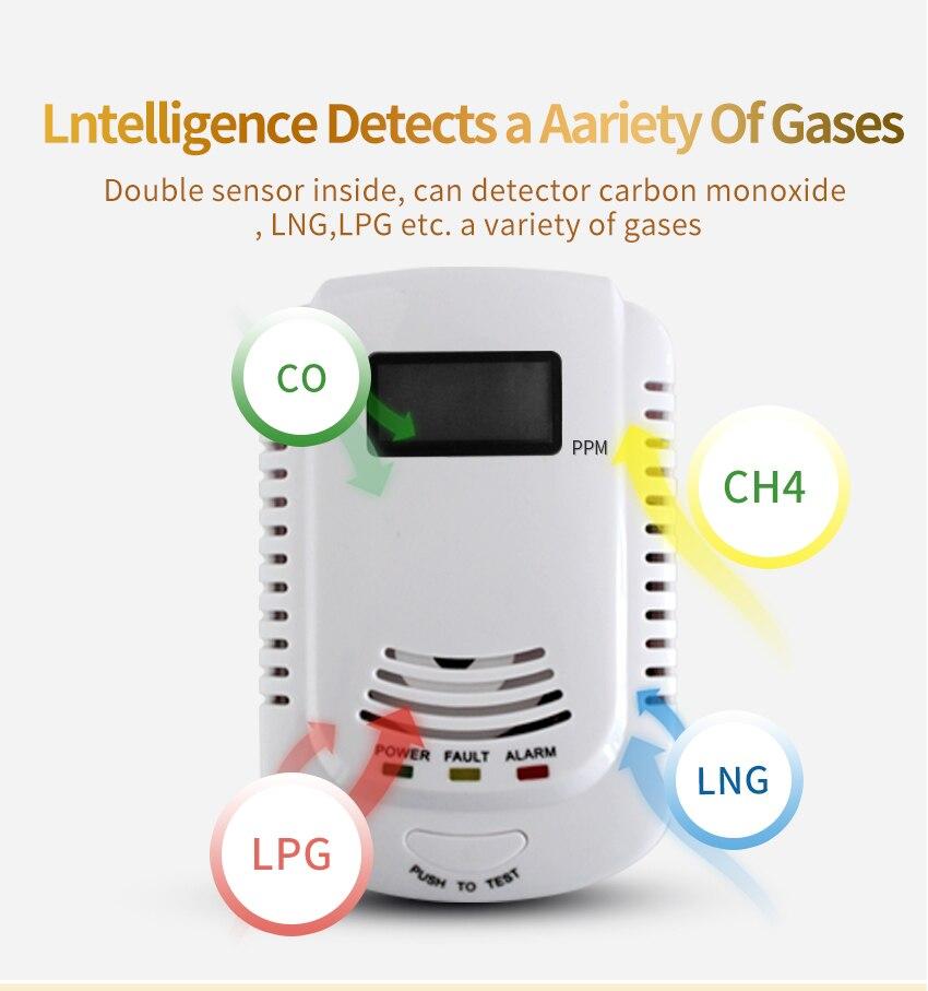Combinação Fumaça De Monóxido De Carbono CO