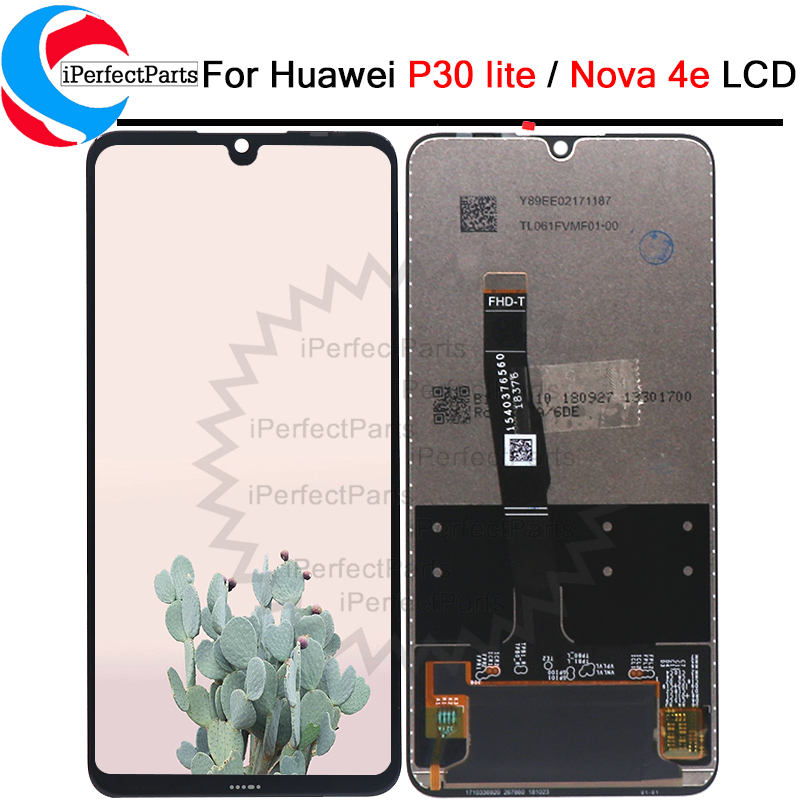 For Huawei P30 lite LCD with frame Display Touch Screen Digitizer Assembly Replacement For Huawei Nova 4E LCD Display-in Mobile Phone LCD Screens from Cellphones & Telecommunications    1