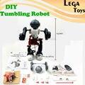 BRICOLAJE Eléctrico Tumbling Dacing Robot Modelo 3-Mode Montaje Robot Creativo Ciencia kit de Juguetes Educativos Para Niños