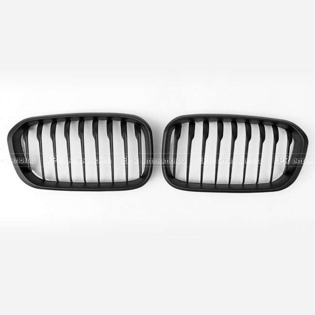 849674abde8 ABS Front Grille Matte Black Accessories For BMW 1 Series F20 15 16 Single Style  Car Styling -in Racing Grills from Automobiles   Motorcycles on ...