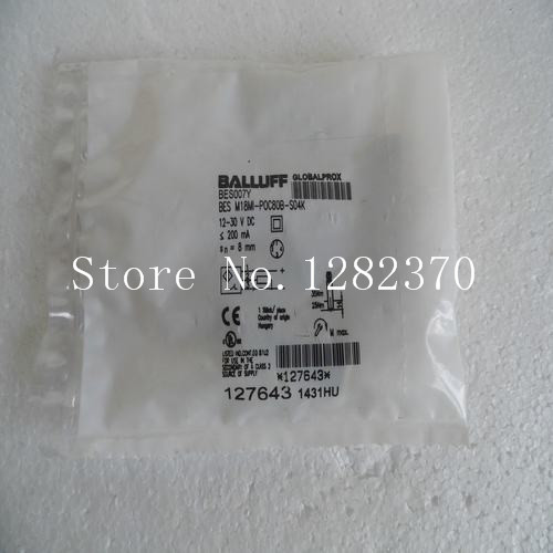 [SA] New original special sales BALLUFF sensor switch BES M18MI-POC80B-S04K spot --2PCS/LOT [sa] new original special sales balluff sensor switch bes m08mh1 psc30b s49g spot 2pcs lot