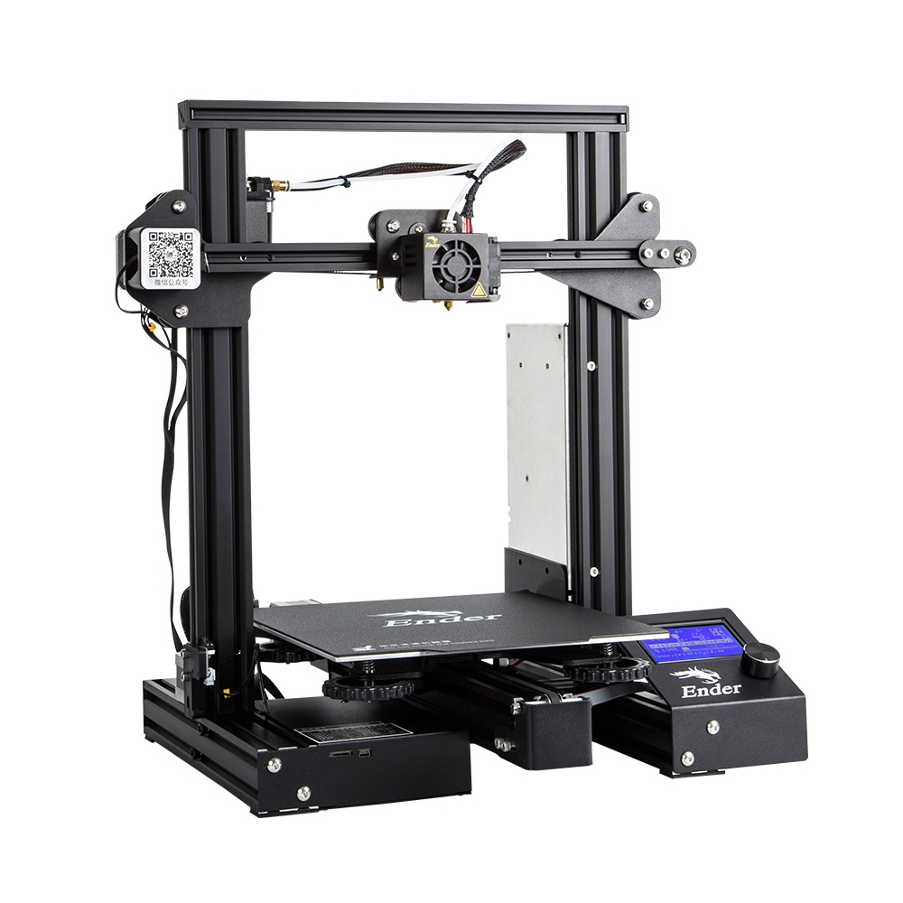Ender-3 Pro V-slot Pru sa I3 DIY 3D Printer Kit 220x220x250mm Printing Size With Magnetic Platform S