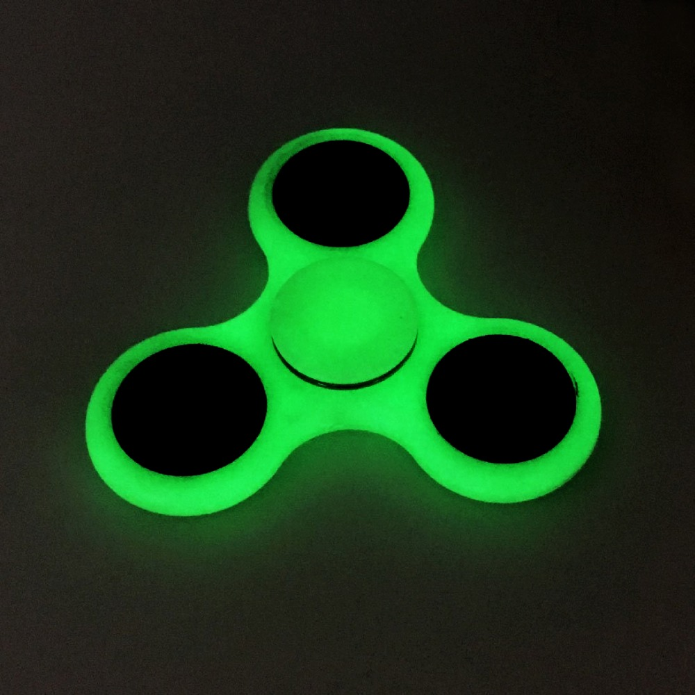 Plastic EDC Hand Spinner Fidget for Autism and antistress Tri-Spinner Anti-Stress 8 Kinds of Color ,Stress Wheel Of Funny toys