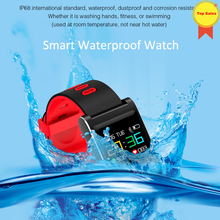 Smart Wristband Blood Pressure Bracelet Color Display IP68 Waterproof Fitness Tracker smart Band for Android IOS pk band 4 men цена и фото