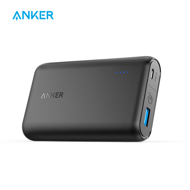 Anker Мощность core Скорость QC 10000, Qualcomm Quick Charge 3.0 Портативный Зарядное устройство с Мощность IQ, мобильные Аккумуляторы для Samsung, iphone