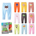 0-36M 4 Pieces / Lot Baby Trousers Kid Wear Baby Pants Cartoon Boys Girls Infant Toddlers Clothing Cartoon Cotton PP Pants V20