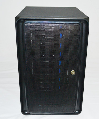 NAS chassis 8 hard disk bits home storage cabinet high-definition storage monitoring cabinet