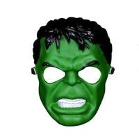 Halloween Christmas Cosplay Cartoon Hulk Mask Anime Iron Man Mask Unisex