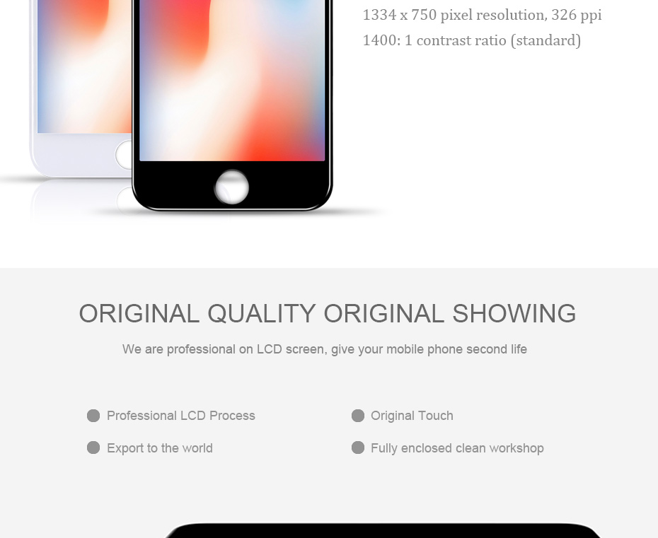 HTB1ouokPVzqK1RjSZFvq6AB7VXa7 2019 100% AAAA 3D Touch Screen Original LCD For iPhone 7 6 6s 5s 5 LCD Display Digitizer No Dead Pixel Touch Replacement Screen