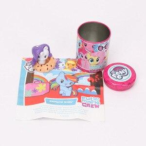 Image 5 - 1 pz My Little Pony Toys Cutie Mark Crew Mini Pony Dolls lamicizia è Magic Rainbow Dash Twilight Sparkle Figure Christmas