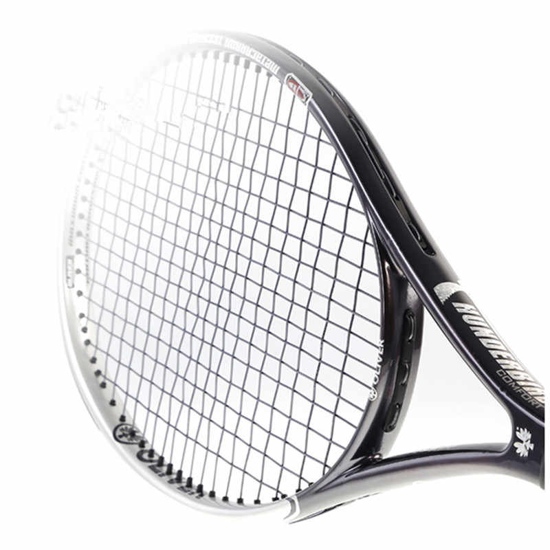 Tennis Rackets Coffee Color with Carbon Fiber for Male and Female for Racquet Sports Tennis Accessories Oliver THUNDER Bird