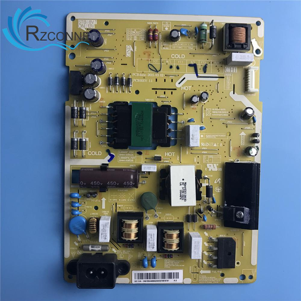 Power Board Card Supply BN44-00852A L48MSF-FDY For 43 Inch Samsung LCD TV UN43J5020AF HG43NE478SF